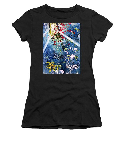Blues And Berries Women's T-Shirt