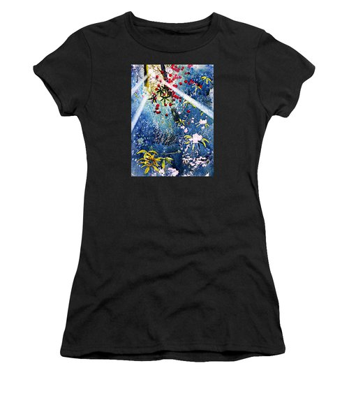 Blues And Berries Women's T-Shirt (Athletic Fit)