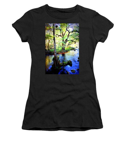 Blues In Florida Swamp Women's T-Shirt