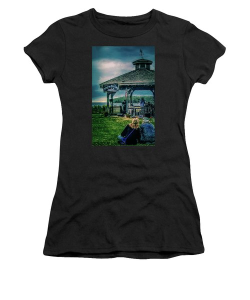 Blues On The Bay Women's T-Shirt (Athletic Fit)