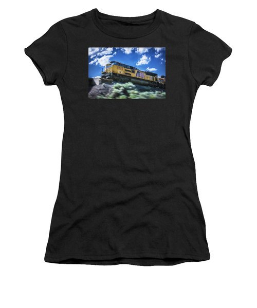 Blurred Rails Women's T-Shirt