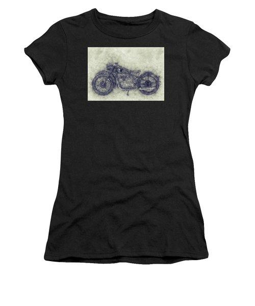 Bmw R32 - 1919 - Motorcycle Poster 1 - Automotive Art Women's T-Shirt