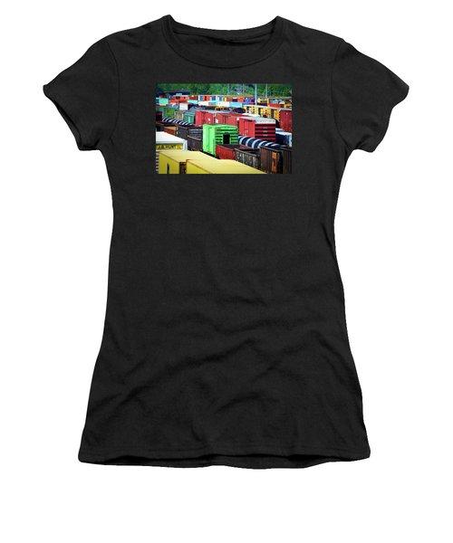 Bnsf Lindenwood Yard Women's T-Shirt