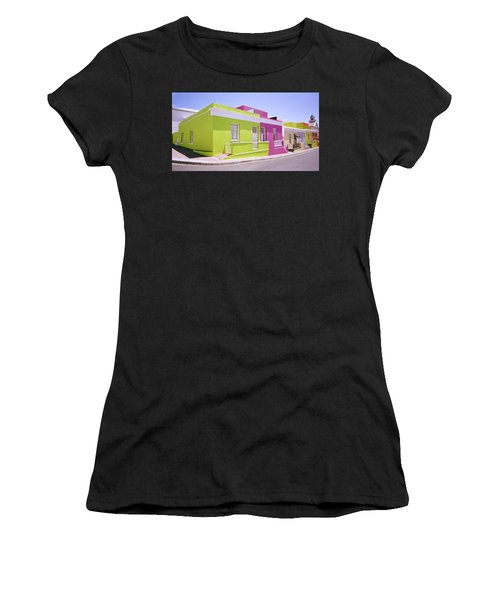 Bo Kaap Color Women's T-Shirt (Junior Cut) by Shaun Higson