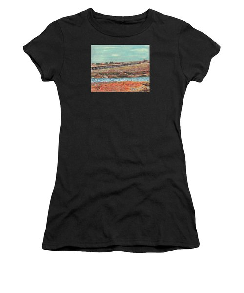 Boardwalk At Sandwich Ma Women's T-Shirt (Athletic Fit)