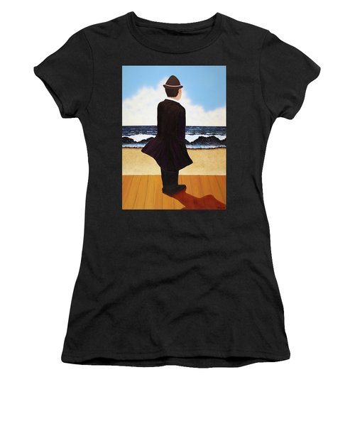 Boardwalk Man Women's T-Shirt (Athletic Fit)