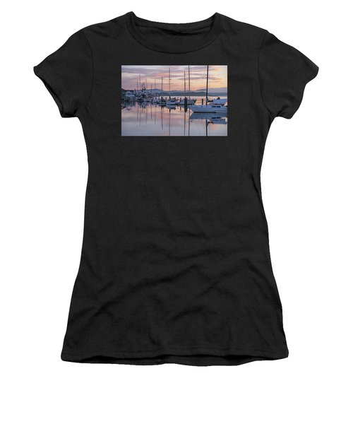 Boats In Pastel Women's T-Shirt