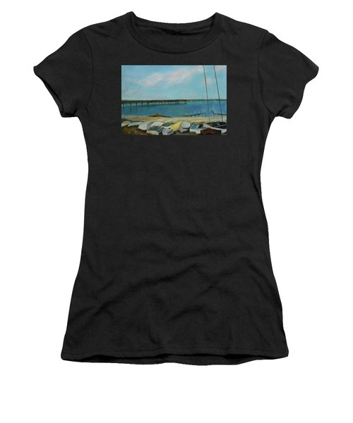 Boats Of Salt Run Too Women's T-Shirt (Athletic Fit)