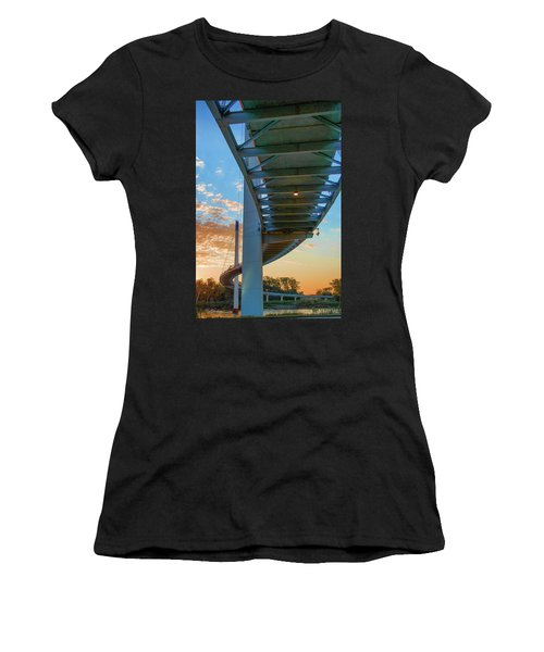 Bob Kerry Bridge At Sunrise-2 Women's T-Shirt