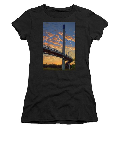 Bob Kerry Bridge At Sunrise Women's T-Shirt (Athletic Fit)