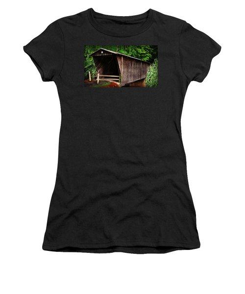 Bob White Bridge Women's T-Shirt (Athletic Fit)
