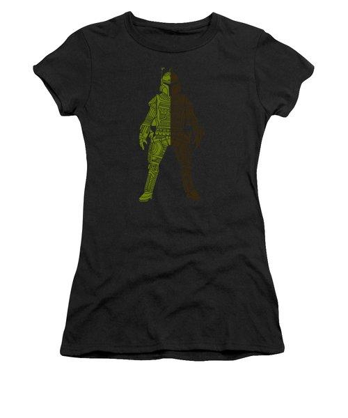 Boba Fett - Star Wars Art, Green 03 Women's T-Shirt