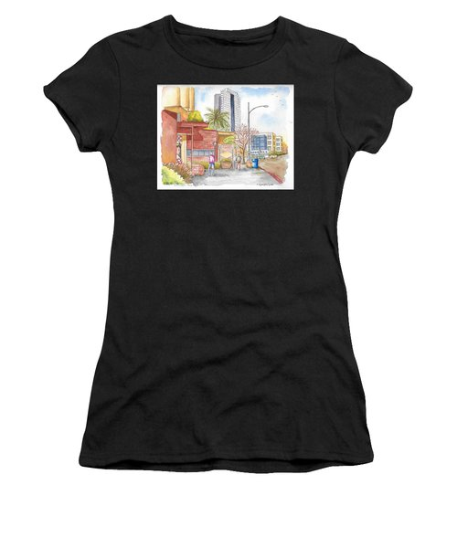 Bob's Coffee Shop In Riverside Dr., Burbank, California Women's T-Shirt