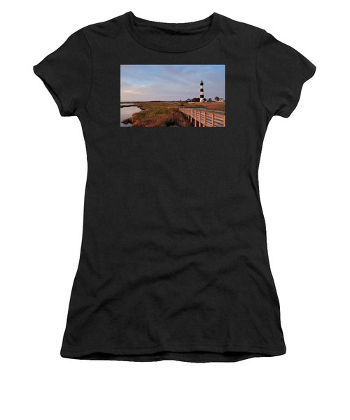 Bodie Island Lighthouse Women's T-Shirt (Athletic Fit)