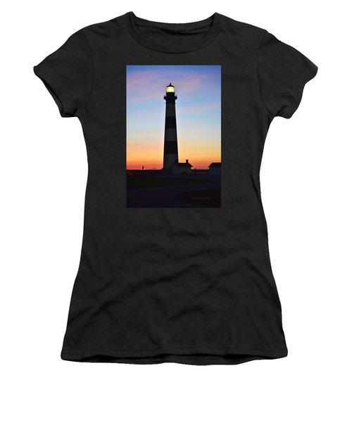 Bodie Lighthouse At Sunrise Women's T-Shirt