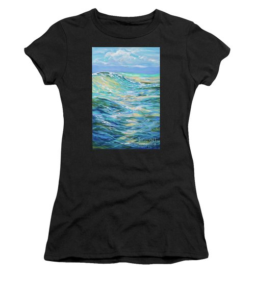 Bodysurfing North Women's T-Shirt (Athletic Fit)