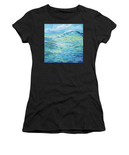 Bodysurfing Rolling Wave Women's T-Shirt