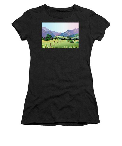 Bolder Boulder Poster 2009 Women's T-Shirt (Athletic Fit)