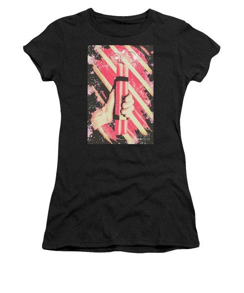 Bomber Man Hand Women's T-Shirt