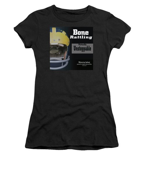 Bone Rattling Virtually Unstoppable Women's T-Shirt (Athletic Fit)