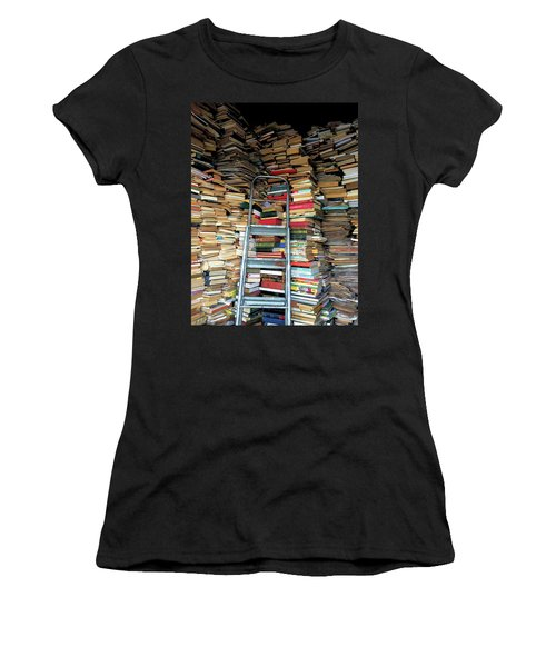 Books For Sale Women's T-Shirt (Athletic Fit)