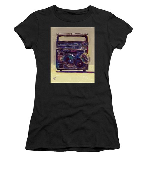 Boom Box Women's T-Shirt (Athletic Fit)