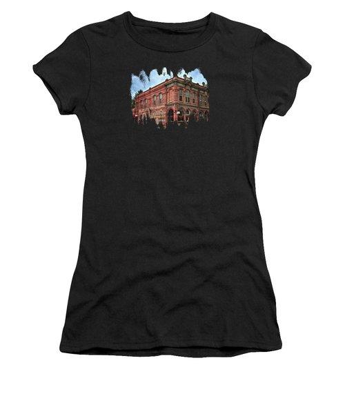 Boomtown Saloon Jacksonville Oregon Usa Women's T-Shirt