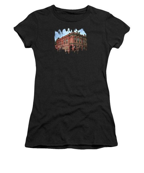 Boomtown Saloon Jacksonville Oregon Usa Women's T-Shirt