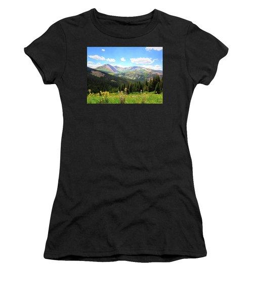 Boreas Pass Colorado Women's T-Shirt (Athletic Fit)