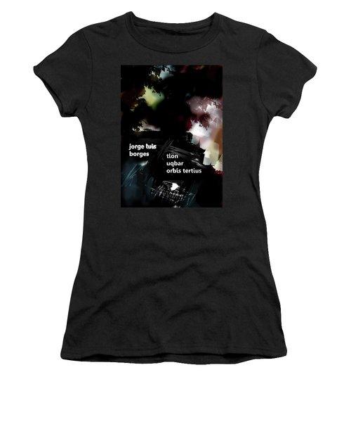 Borges Tlon Poster  Women's T-Shirt