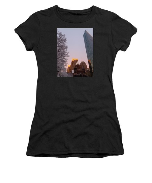 Boston 02/05/16 Women's T-Shirt (Athletic Fit)