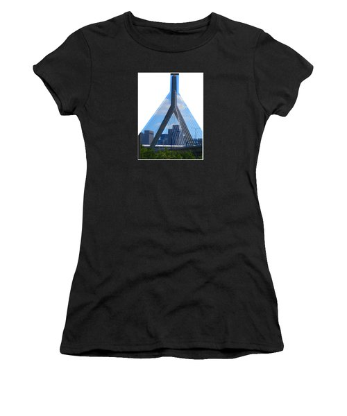 Boston Bridges So Beautiful A Photograph Can Give You All The Time To Enjoy The Moment Women's T-Shirt