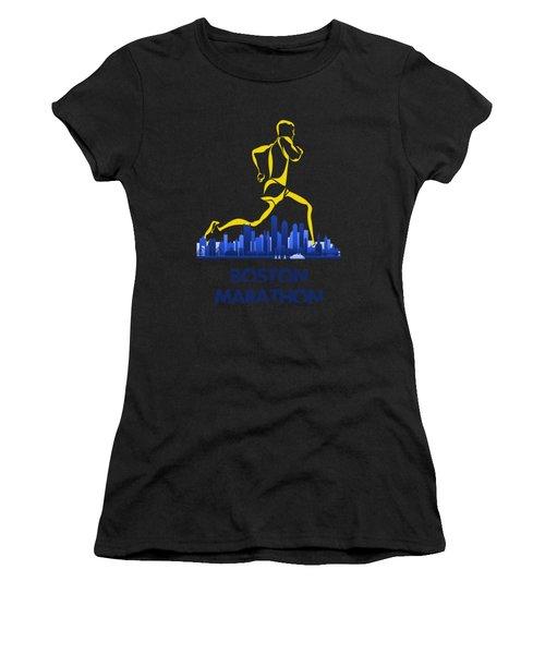 Boston Marathon5 Women's T-Shirt (Athletic Fit)