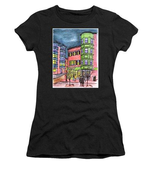 Boston Northend Women's T-Shirt (Athletic Fit)