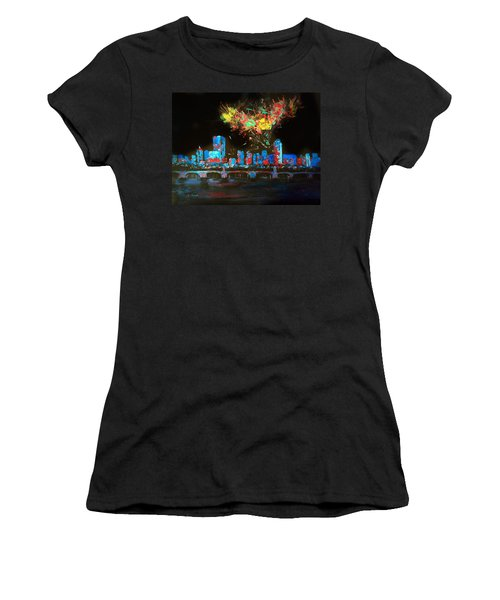 Boston On The Charles Women's T-Shirt (Athletic Fit)