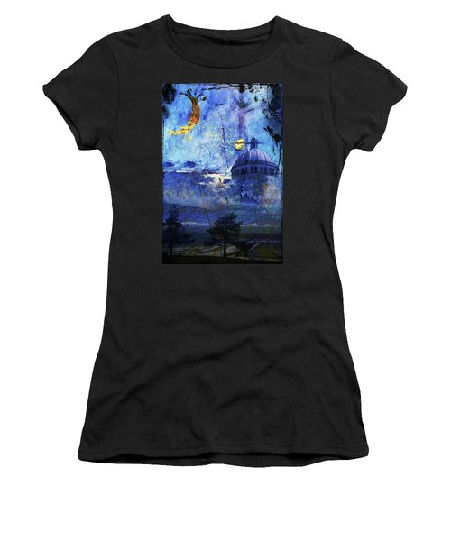 Women's T-Shirt featuring the digital art Boston Strong by Richard Ricci