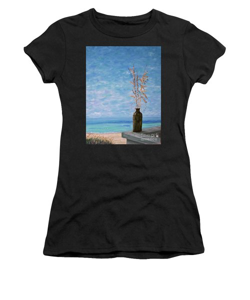 Bottle And Sea Oats Women's T-Shirt (Athletic Fit)