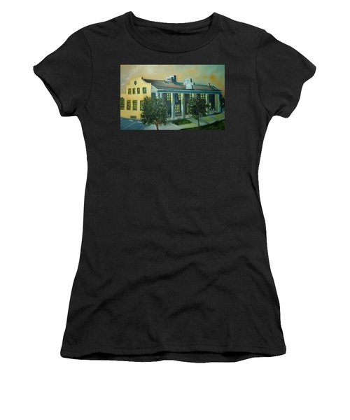 Boulder Dam Hotel, Boulder City, Nevada Women's T-Shirt (Athletic Fit)