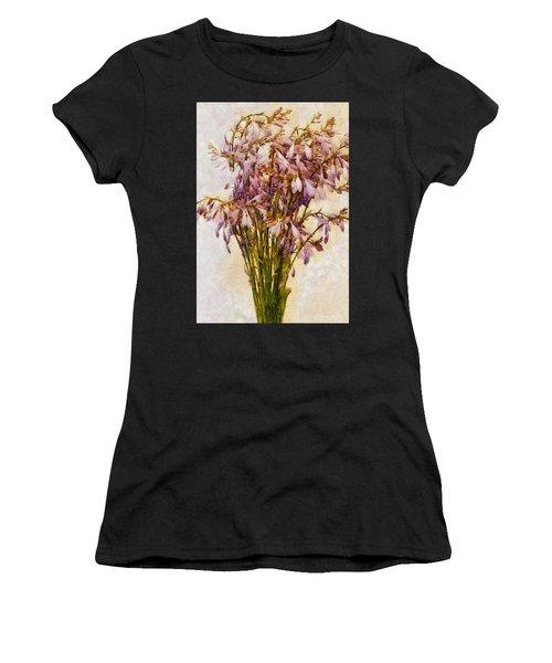 Bouquet Of Hostas Women's T-Shirt (Athletic Fit)