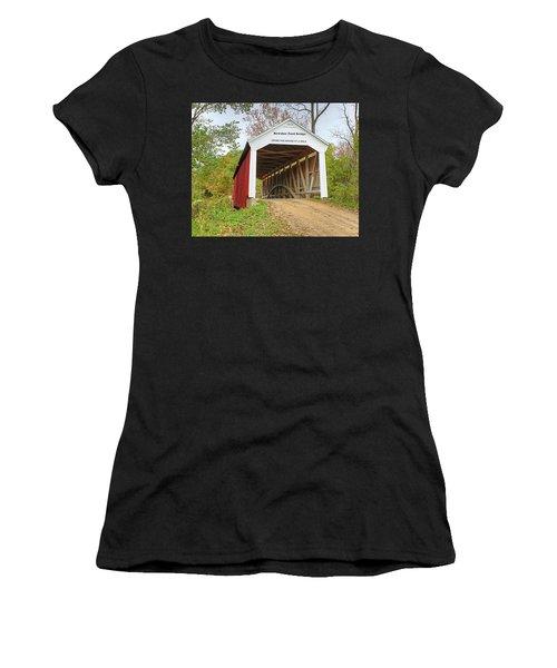 Bowser Ford Covered Bridge Women's T-Shirt