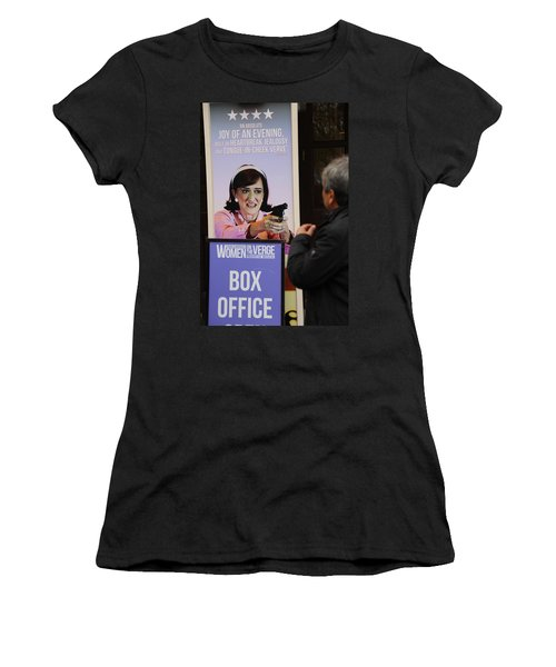 Box Office Women's T-Shirt (Athletic Fit)