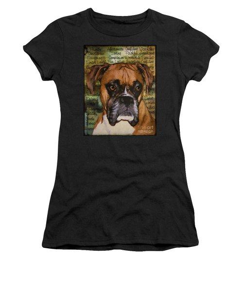 Boxer Character Women's T-Shirt