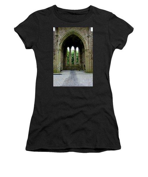 Boyle Abbey In Ireland 2 Women's T-Shirt (Athletic Fit)