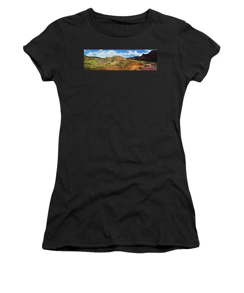 Women's T-Shirt (Junior Cut) featuring the photograph Bracchina Gorge Flinders Ranges South Australia by Bill Robinson