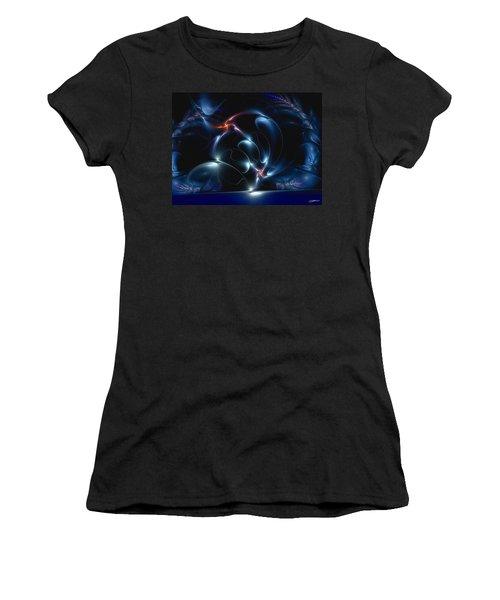 Brain Dancing Women's T-Shirt (Athletic Fit)