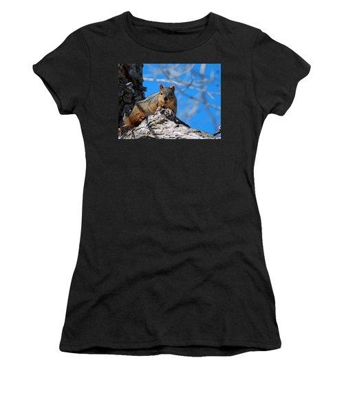 Branch Squirrel Women's T-Shirt
