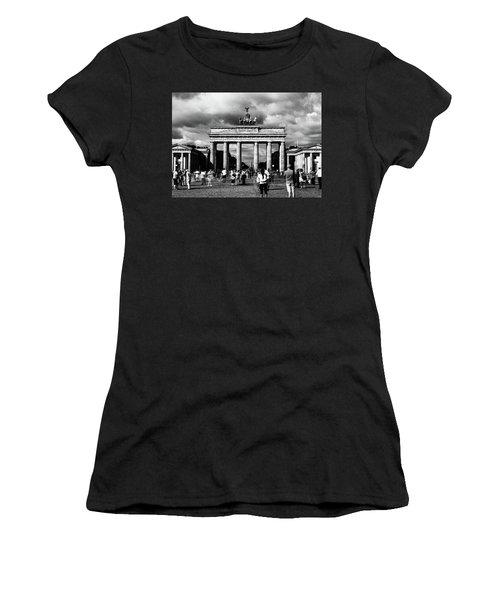 Brandenburg Gate Women's T-Shirt (Athletic Fit)