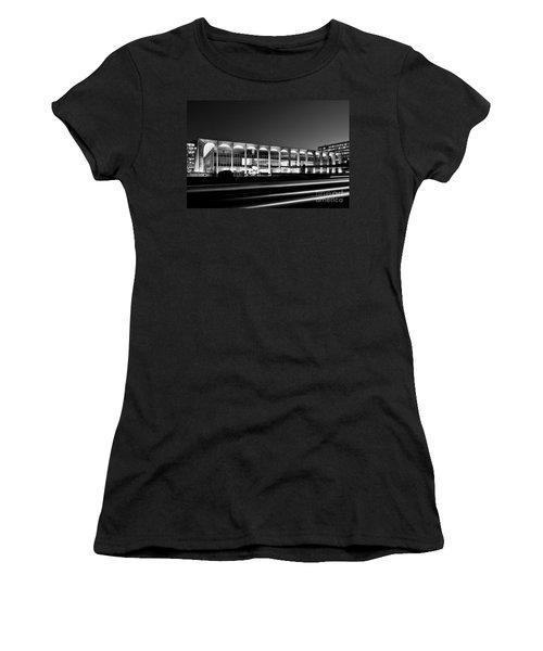 Brasilia - Itamaraty Palace - Black And White Women's T-Shirt