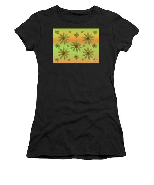 Women's T-Shirt featuring the photograph Brass Corollas by Rockin Docks Deluxephotos