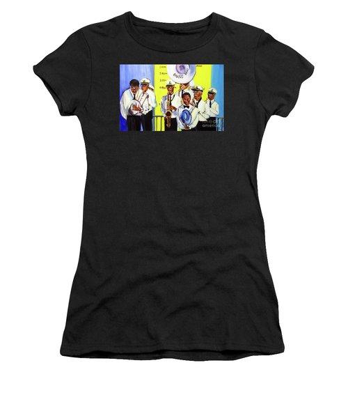 Brass Of  Class New Orleans Women's T-Shirt (Junior Cut) by Ecinja Art Works